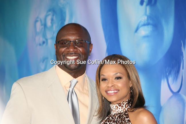 "Demetria McKinney and Roger Bob attend The New York Premiere of Tyler Perry's ""I Can Do Bad All By Myself"" at The School of Visual Arts Theatre on September 8, 2009. (Photo by Sue Coflin/Max Photos)"