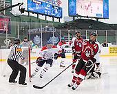 Terrence Wallin (UML - 9), Joe Gambardella (UML - 5), Matt Benning (NU - 5), Braden Pimm (NU - 14) - The Northeastern University Huskies defeated the University of Massachusetts Lowell River Hawks 4-1 (EN) on Saturday, January 11, 2014, at Fenway Park in Boston, Massachusetts.