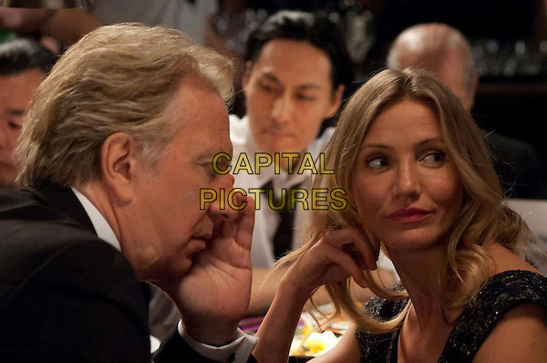 Alan Rickman, Cameron Diaz 	 <br /> in Gambit (2012) <br /> *Filmstill - Editorial Use Only*<br /> CAP/FB<br /> Image supplied by Capital Pictures