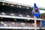 Corner flag at Ibrox