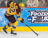 Travis Boyd (MN - 22) - The Union College Dutchmen defeated the University of Minnesota Golden Gophers 7-4 to win the 2014 NCAA D1 men's national championship on Saturday, April 12, 2014, at the Wells Fargo Center in Philadelphia, Pennsylvania.