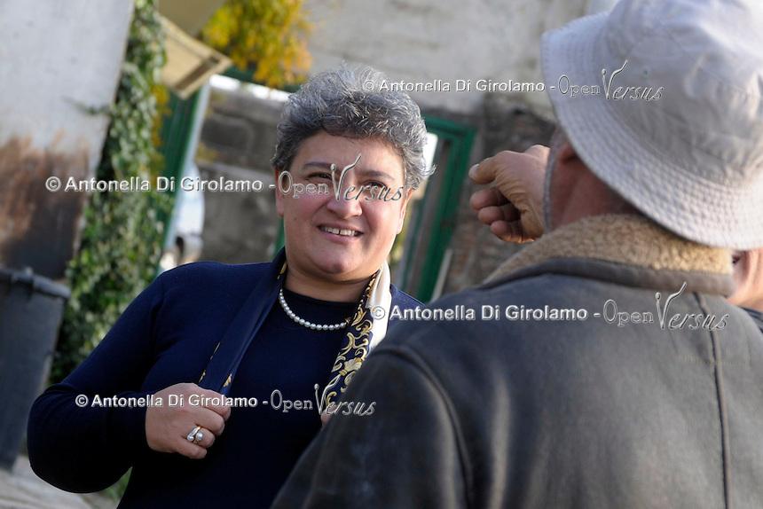 Carcere di Paliano, dove sono reclusi i collaboratori di giustizia.La direttrice.