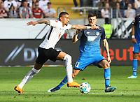 Kevin-Prince Boateng (Eintracht Frankfurt) gegen Florian Grillitsch (TSG 1899 Hoffenheim) - 08.04.2018: Eintracht Frankfurt vs. TSG 1899 Hoffenheim, Commerzbank Arena