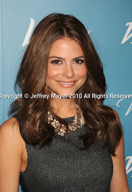 BEVERLY HILLS, CA. - September 30: Maria Menounos arrives at Variety's 2nd Annual Power Of Women Luncheon at The Beverly Hills Hotel on September 30, 2010 in Beverly Hills, California.