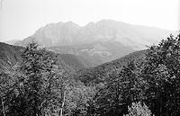 Paesaggio montuoso nei pressi di Tjentište (Foča) --- Mountainous landscape near Tjentište (Foča)