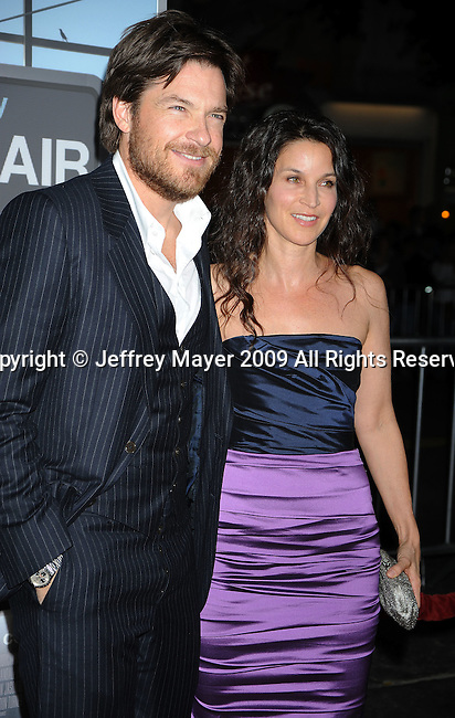 "WESTWOOD, CA. - November 30: Jason Bateman and Amanda Anka arrive at the ""Up In The Air"" Los Angeles Premiere at Mann Village Theatre on November 30, 2009 in Westwood, California."