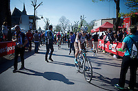 Jan Bakelants (BEL/Ag2r-LaMondiale) post-race<br /> <br /> 79th Fl&egrave;che Wallonne 2015