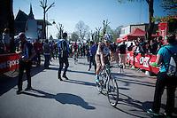 Jan Bakelants (BEL/Ag2r-LaMondiale) post-race<br /> <br /> 79th Flèche Wallonne 2015
