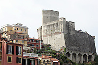 Una veduta di Lerici, col Castello sulla destra.<br /> A view of Lerici, with the Castle at right.<br /> UPDATE IMAGES PRESS/Riccardo De Luca