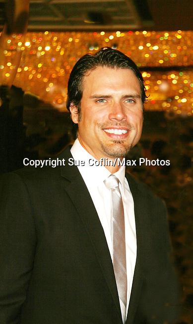 Joshua Morrow - Red Carpet - 37th Annual Daytime Emmy Awards on June 27, 2010 at Las Vegas Hilton, Las Vegas, Nevada, USA. (Photo by Sue Coflin/Max Photos)