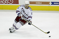 16 January 2006: New York Rangers' Martin Rucinsky plays against the Columbus Blue Jackets at Nationwide Arena in Columbus, Ohio.<br />