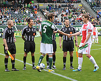 Portland Timbers vs AFC AJAX May 22 2011