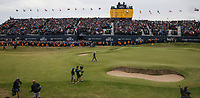 Jordan Spieth (USA) approaching the 18th and the 72nd hole, during Sunday's Final Round at The 146th Open played at Royal Birkdale, Southport, England.  23/07/2017. Picture: David Lloyd | Golffile.<br /> <br /> Images must display mandatory copyright credit - (Copyright: David Lloyd | Golffile).