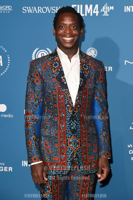 LONDON, UK. December 02, 2018: Kobna Holbrook Smith at the British Independent Film Awards 2018 at Old Billingsgate, London.<br /> Picture: Steve Vas/Featureflash