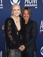 LAS VEGAS, NEVADA - APRIL 07: Nicole Kidman and Keith Urban attend the 54th Academy Of Country Music Awards at MGM Grand Hotel &amp; Casino on April 07, 2019 in Las Vegas, Nevada. <br /> CAP/MPIIS<br /> &copy;MPIIS/Capital Pictures