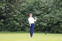 Andrew Goulding (Portmarnock) during the Connacht U14 Boys Amateur Open, Ballinasloe Golf Club, Ballinasloe, Galway,  Ireland. 10/07/2019<br /> Picture: Golffile | Fran Caffrey<br /> <br /> <br /> All photo usage must carry mandatory copyright credit (© Golffile | Fran Caffrey)