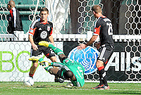 Bill Hamid (28) of D.C. United makes a save during the game. The Columbus Crew defeated D.C. United 2-1 ,at RFK Stadium, Saturday March 23,2013.