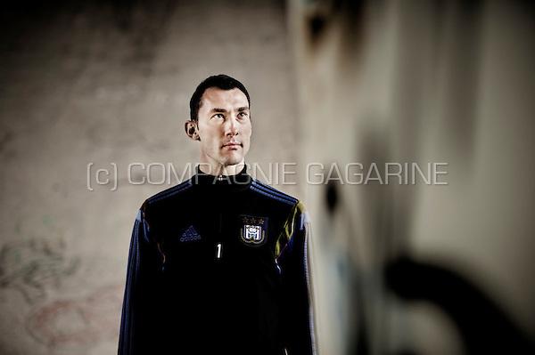 Belgian-Italian football goalkeeper Silvio Proto (Belgium, 27/03/2015)