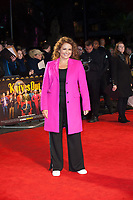 Nadia Sawalha, Seen arriving for Knives Out, Premiere at London Film Festival, Odeon Leicester Square, London. 08.10.19<br /> CAP/TSC<br /> ©TSC/Capital Pictures