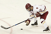 Mike Booth (BC - 12) - The visiting University of Vermont Catamounts tied the Boston College Eagles 2-2 on Saturday, February 18, 2017, Boston College's senior night at Kelley Rink in Conte Forum in Chestnut Hill, Massachusetts.Vermont and BC tied 2-2 on Saturday, February 18, 2017, Boston College's senior night at Kelley Rink in Conte Forum in Chestnut Hill, Massachusetts.