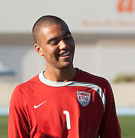 Earl Edwards, trainging. 2009 CONCACAF Under-17 Championship From April 21-May 2 in Tijuana, Mexico