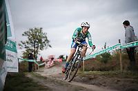Maud Kaptheijns (NLD/AAdrinks-Kalas)<br /> <br /> Elite Women's race<br /> Superprestige Zonhoven 2015