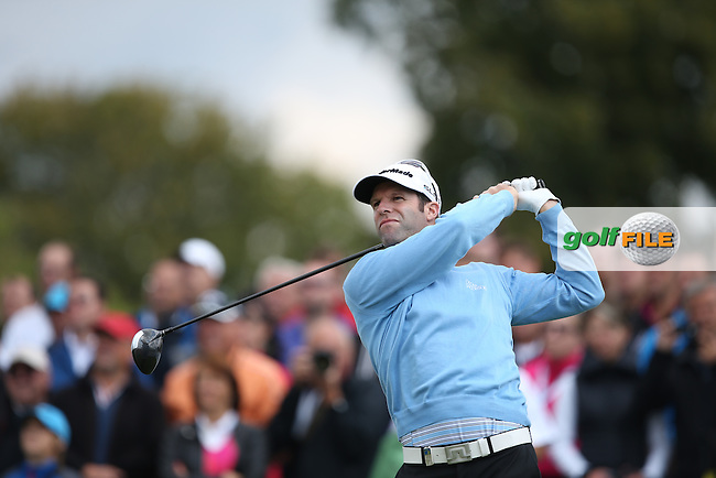 Bradley Dredge (WAL) starts the Final Round of the D&D Real Czech Masters 2014 from the Albatross Golf Resort, Vysoky Ujezd, Prague. Picture:  David Lloyd / www.golffile.ie