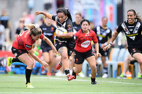 Shontelle Woodman, New Zealand v Canada - Women's Rugby League World Cup match at Southern Cross Group Stadium, Sydney, Australia on 16 November 2017.<br /> Copyright photo: Delly Carr / www.photosport.nz MANDATORY CREDIT/BYLINE : Delly Carr/SWpix.com/PhotosportNZ