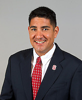 Ophny Escalante,  a member of Stanford University Football team. Photo taken on  Wednesday June 26, 2013.