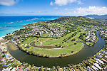 Mid-Pacific Country Club, Lanikai, Kailua, Hawaii