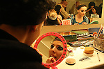 """Hungarian company of Dance Experidance during the presentation of her new show """"NAGYIDA"""".Backstage..(Acero/ALTERPHOTOS)"""