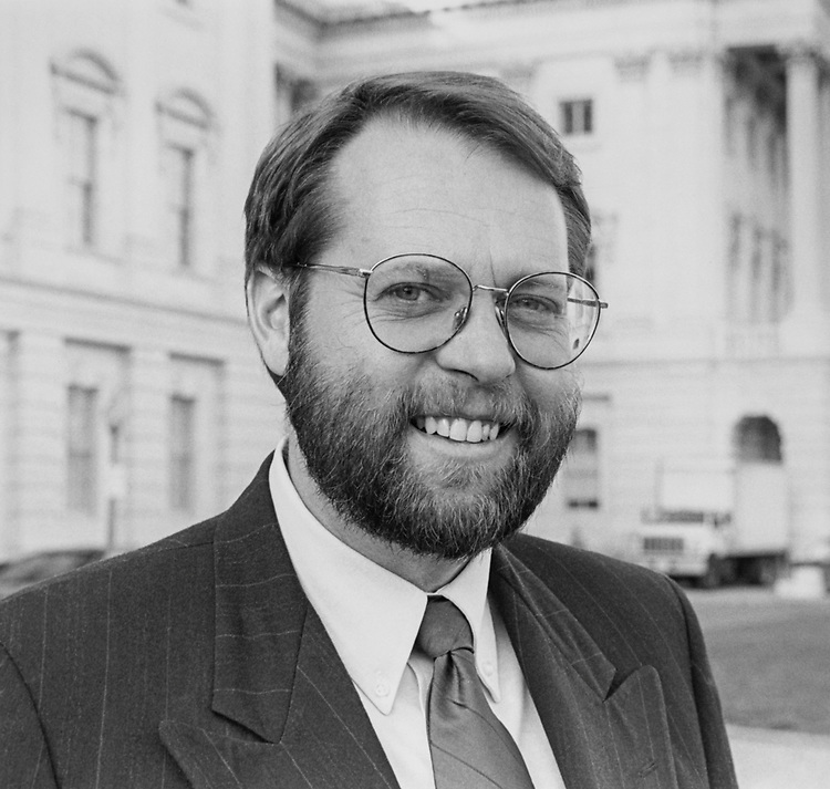 Rep. Steve LaTourette, R-Ohio, on Dec. 19, 1994. (Photo by Chris Martin/CQ Roll Call via Getty Images)