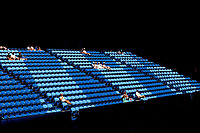 5th January 2020; RAC Arena, Perth, Western Australia; ATP Cup Australia, Perth, Day 3; Italy versus Norway; spectators enjoy the sun while watching the doubles - Editorial Use