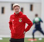 19.3.2018: Scotland u21 training:<br /> Scot Gemmill