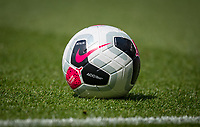 The Nike Merlin Premier League matchball during the Premier League match between Leicester City and Wolverhampton Wanderers at the King Power Stadium, Leicester, England on 10 August 2019. Photo by Andy Rowland.