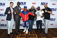 07 June 2019 - Hollywood, California - Joshua Jackson, Yusef Salaam, Korey Wise, Raymond Santana, Antron McCray, Kevin Richardson. ACLU 25th Annual Luncheon held at J.W. Marriott at LA Live. Photo Credit: Birdie Thompson/AdMedia