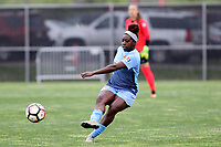 Piscataway, NJ - Sunday April 30, 2017: Mandy Freeman during a regular season National Women's Soccer League (NWSL) match between Sky Blue FC and FC Kansas City at Yurcak Field.