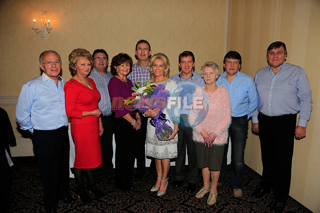 Marie Delaney and her family at her 50th in the West Court Hotel.<br /> Picture: Fran Caffrey www.newsfile.ie