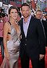 """HUGH JACKMAN AND OLGA FONDA.attends the World Premiere of """"Real Steel"""" at the Gibson Amphitheatre, Universal City, California_02/10/2011.Mandatory Photo Credit: ©Crosby/Newspix International. .**ALL FEES PAYABLE TO: """"NEWSPIX INTERNATIONAL""""**..PHOTO CREDIT MANDATORY!!: NEWSPIX INTERNATIONAL(Failure to credit will incur a surcharge of 100% of reproduction fees).IMMEDIATE CONFIRMATION OF USAGE REQUIRED:.Newspix International, 31 Chinnery Hill, Bishop's Stortford, ENGLAND CM23 3PS.Tel:+441279 324672  ; Fax: +441279656877.Mobile:  0777568 1153.e-mail: info@newspixinternational.co.uk"""