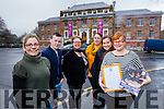 Kerry County Museum Denny Street. have been awarded the Sandford Award for Heritage Education only the fourth in Ireland l-r  Sarah O'Farrell, Daniel Hussey, Helen O'Carroll, Ann Spillane, Jemma O'Connor and Claudia Kohler.