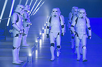 Stormtroopers at the launch event for Rogue One: A Star Wars Story - Launch Event at the Tate Modern