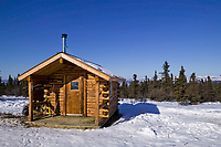 Crowberry cabin, White Mountains National Recreation Area, Interior, Alaska