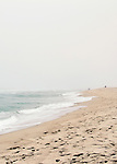 Beach landscape of Surfside Beach on Nantucket Island.