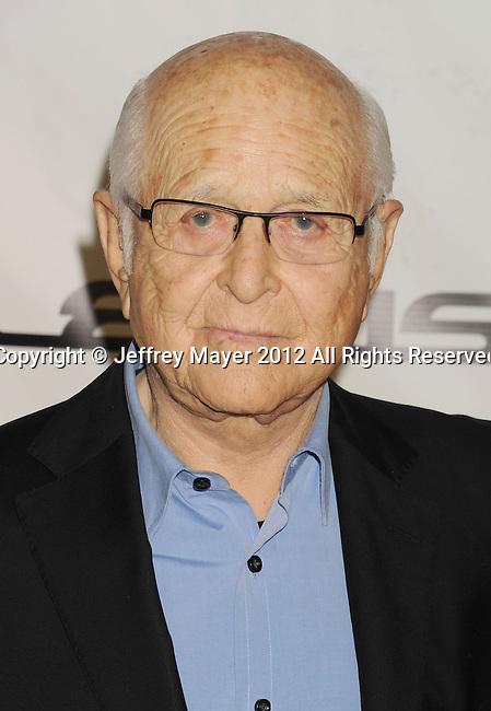 BURBANK, CA - SEPTEMBER 29: Norman Lear arrives at the 2012 Environmental Media Awards at Warner Bros. Studios on September 29, 2012 in Burbank, California.