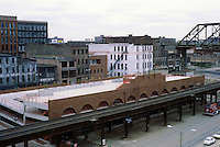 St. Louis: Laclede's Landing--parking garage.