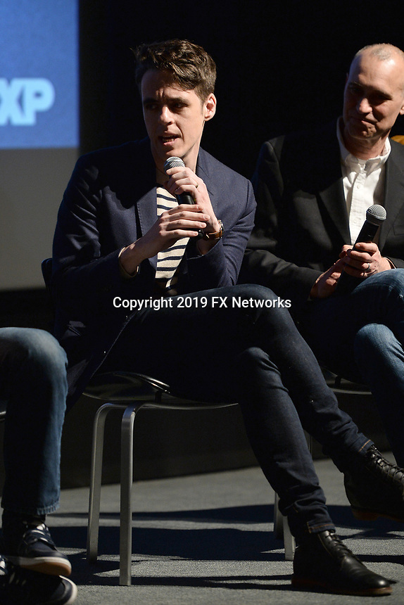 """NEW YORK - APRIL 7: Steven Levenson attends the Q&A after the screening of FX's """"Fosse Verdon"""" presented by FX Networks, Fox 21 Television Studios, and FX Productions at the Museum of Modern Art on April 7, 2019 in New York City. (Photo by Anthony Behar/FX/PictureGroup)"""