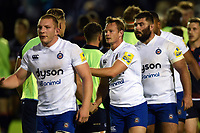 Chris Cook of Bath Rugby after the match. Pre-season friendly match, between Edinburgh Rugby and Bath Rugby on August 17, 2018 at Meggetland Sports Complex in Edinburgh, Scotland. Photo by: Patrick Khachfe / Onside Images