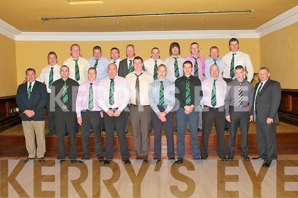 Listowel Rugby Club Social : The Listowel Senior team who attended their club social in the Listowel Arms Hotel on Saturday night last.