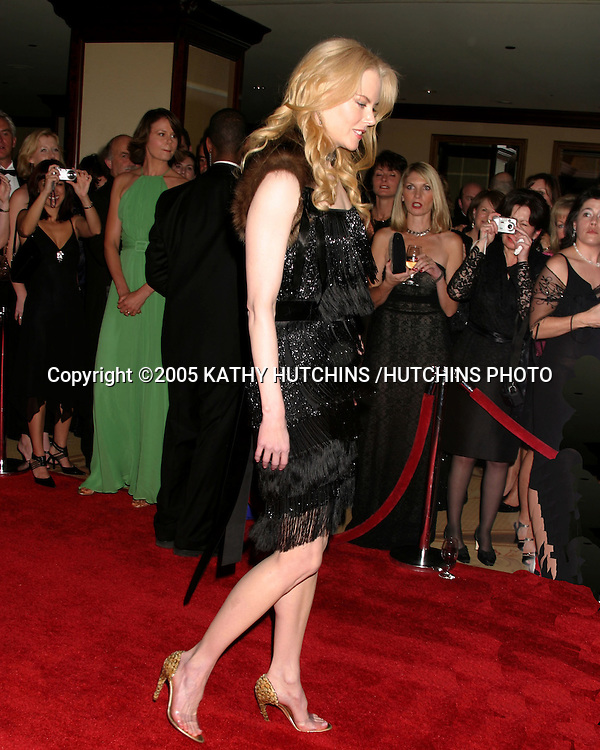 ©2005 KATHY HUTCHINS /HUTCHINS PHOTO.PENFOLDS BLACK TIE GALA DINNER.CENTURY PLAZA HOTEL & SPA.LOS ANGELES, CA.JANUARY 15, 2005..NICOLE KIDMAN