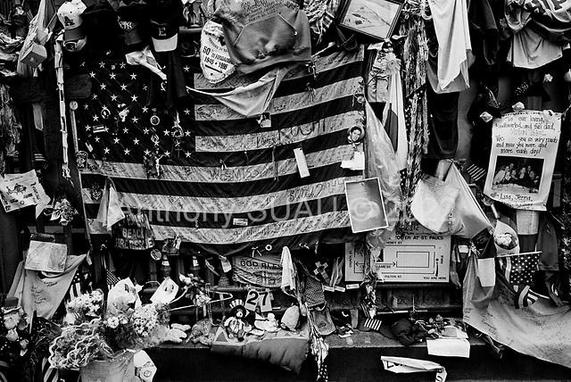 July 13, 2002<br /> New York, New York<br /> <br /> Ground Zero tourist attraction.